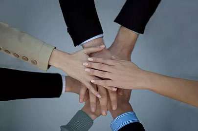 Teamwork - Hands - Unity
